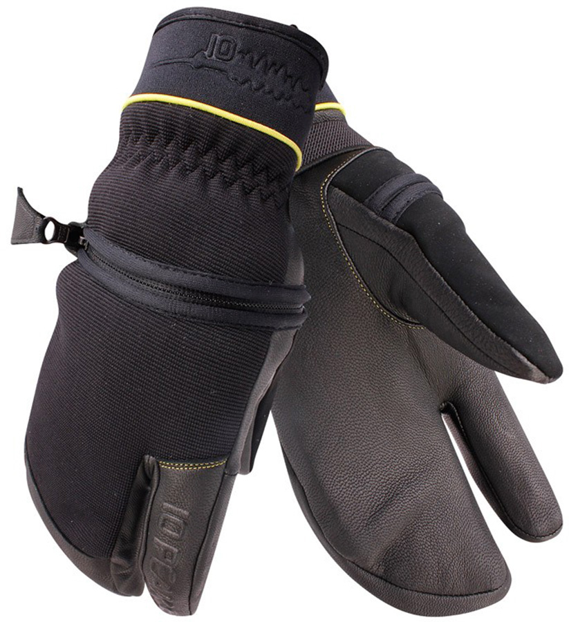 10 Peaks Mount Neptuak Ski/Snowboard Trigger Gloves, L Black
