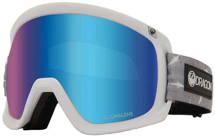 Dragon D3 OTG LumaLens Blue Ion Snowboard/Ski Goggles, L Sharky