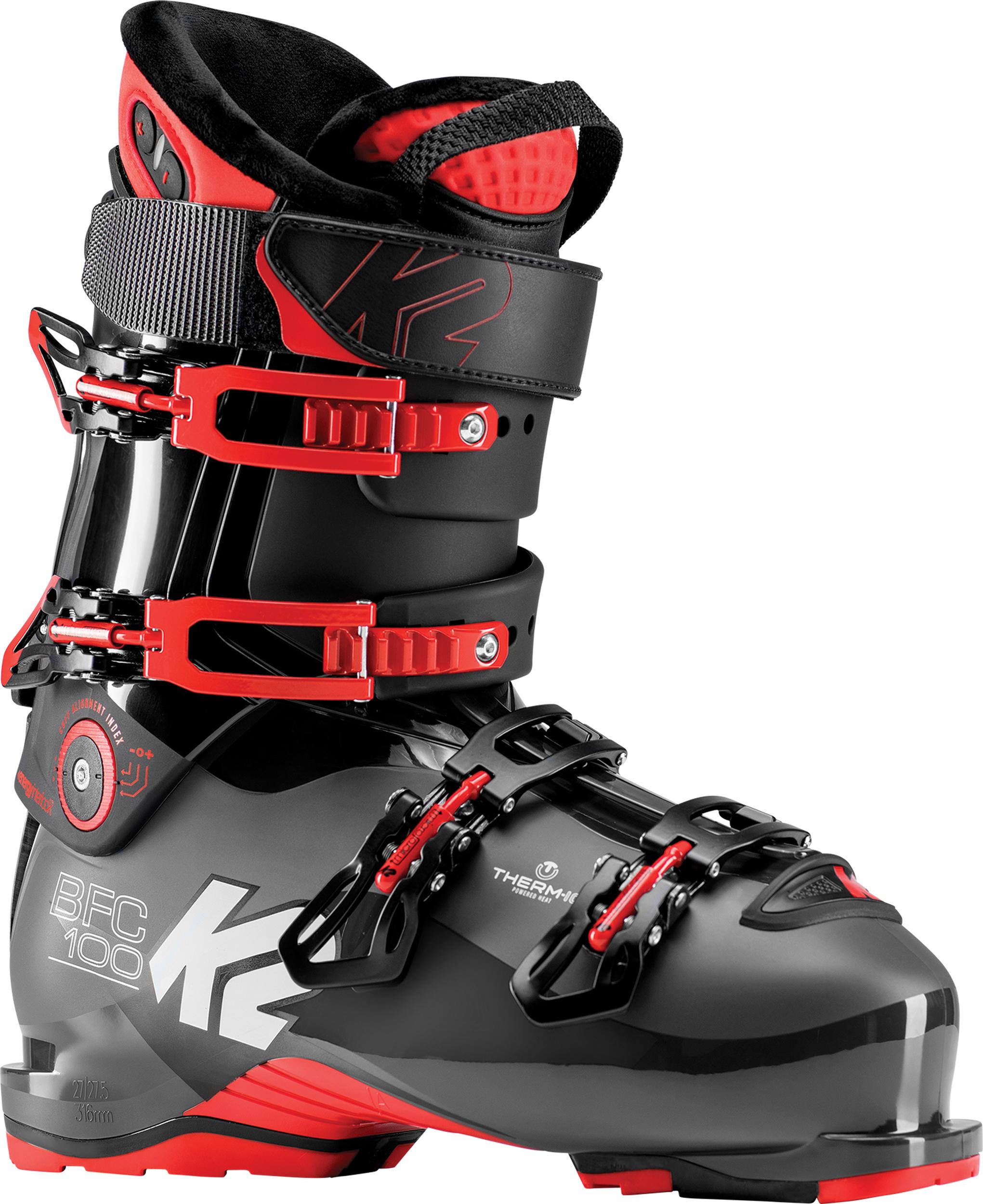 K2 B.F.C. 100 Heat Ski Boot, 25/25.5 2018