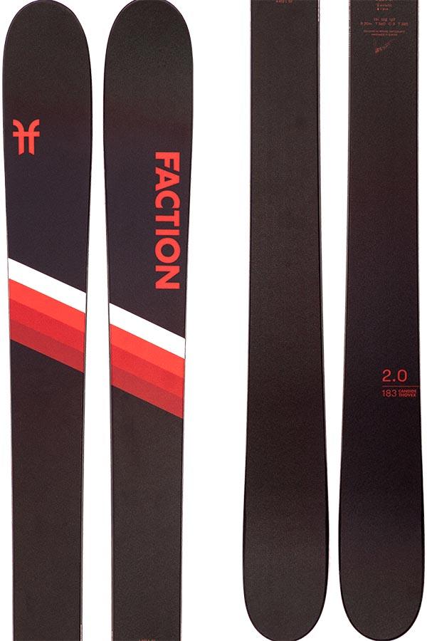 Faction Candide 2.0 Ski Only Skis, 173cm Black 2021