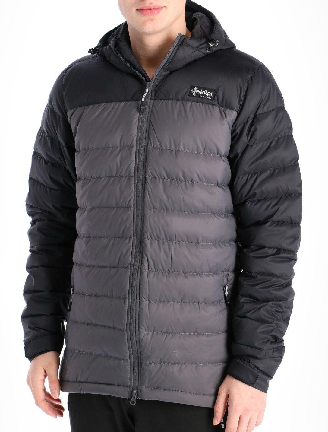 Kilpi Svalbard Insulated Down Jacket, L Dark Grey
