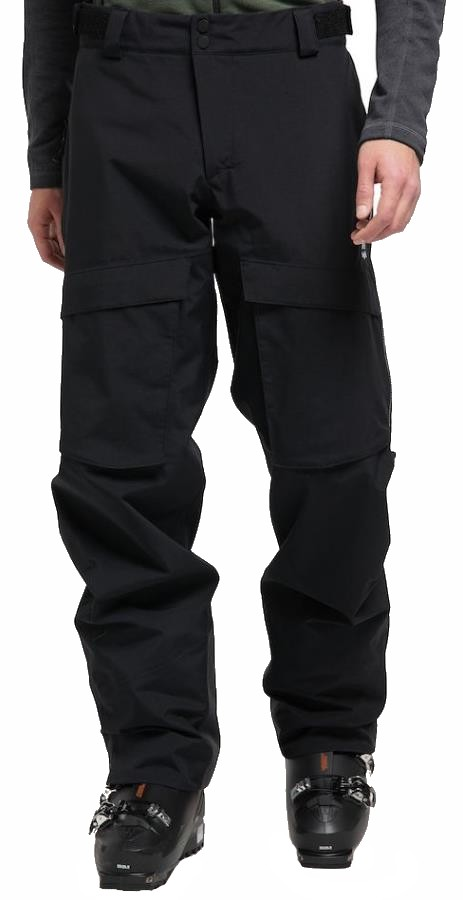 Haglofs Elation GORE-TEX Snowboard/Ski Pants, M True Black
