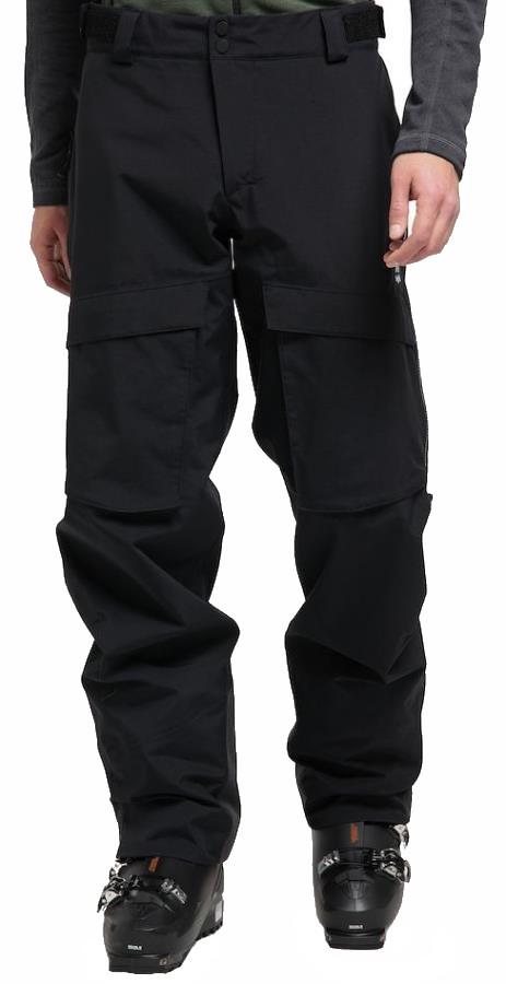 Haglofs Elation GORE-TEX Snowboard/Ski Pants, L True Black