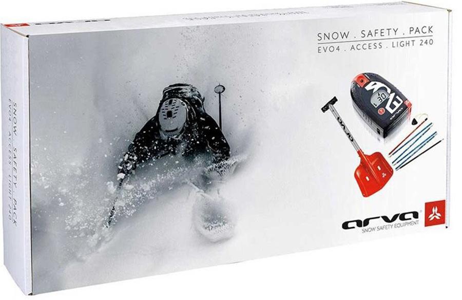 Arva Snow Safety Evo4 + Access + Light Probe Safety Box