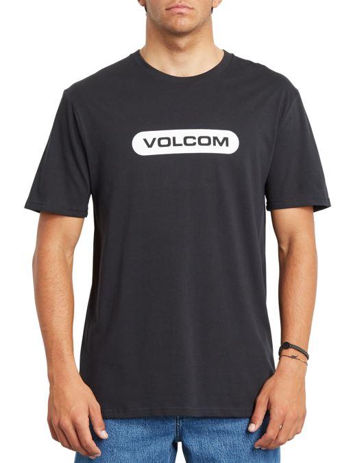 Volcom Adult Unisex New Euro BSC Short Sleeve T-Shirt, L Black