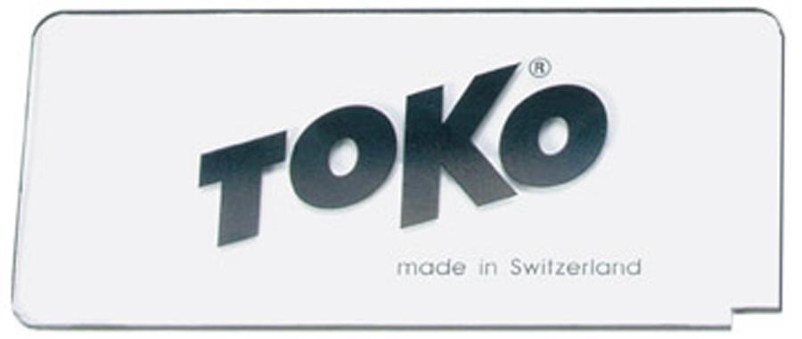 Toko Plexi Blade Ski/Snowboard Wax Scraper, 3mm