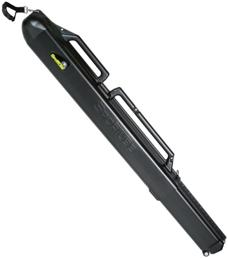 Sportube Series 1 Single Ski Travel Case, 122cm-212cm Black