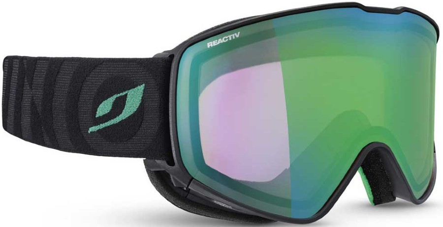Julbo Cyrius Reactiv Perform 1-3 Ski/Snowboard Goggles L Black/Green