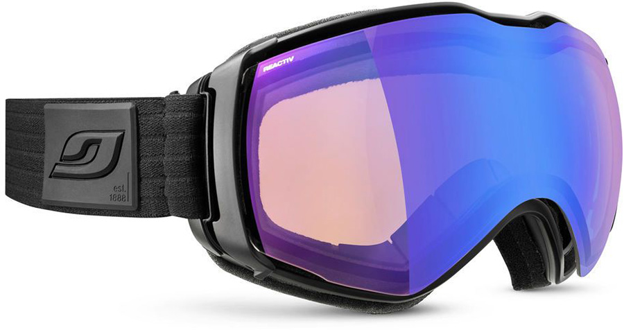Julbo Aerospace Reactiv Performance 1-3 Snowboard/Ski Goggles, L Black