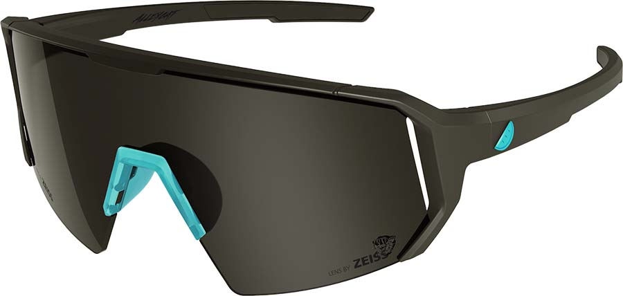 Melon Alleycat Smoke Performace Sunglasses, M/L Black/Turqoise