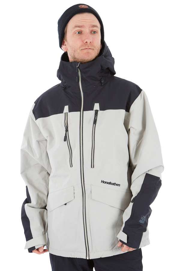 Horsefeathers Halen Ski/Snowboard Jacket, M Cement