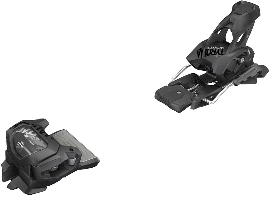 Tyrolia Attack² 13 GW Ski Bindings, 110mm Solid Black