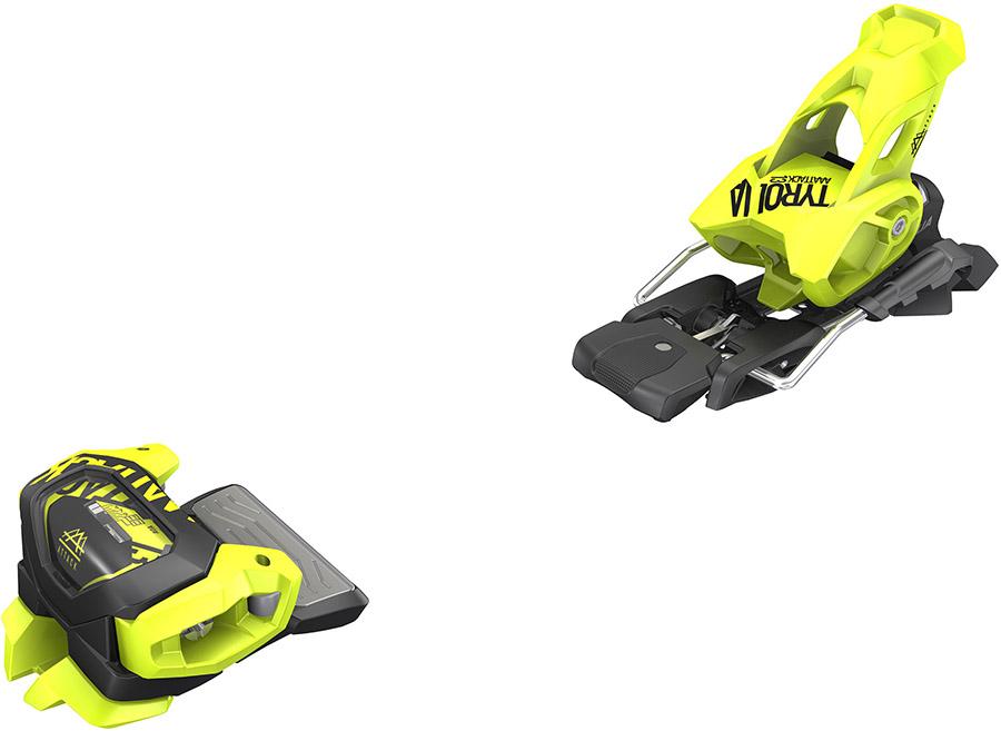 Tyrolia Attack² 13 GW Ski Bindings, 110mm Flash Yellow
