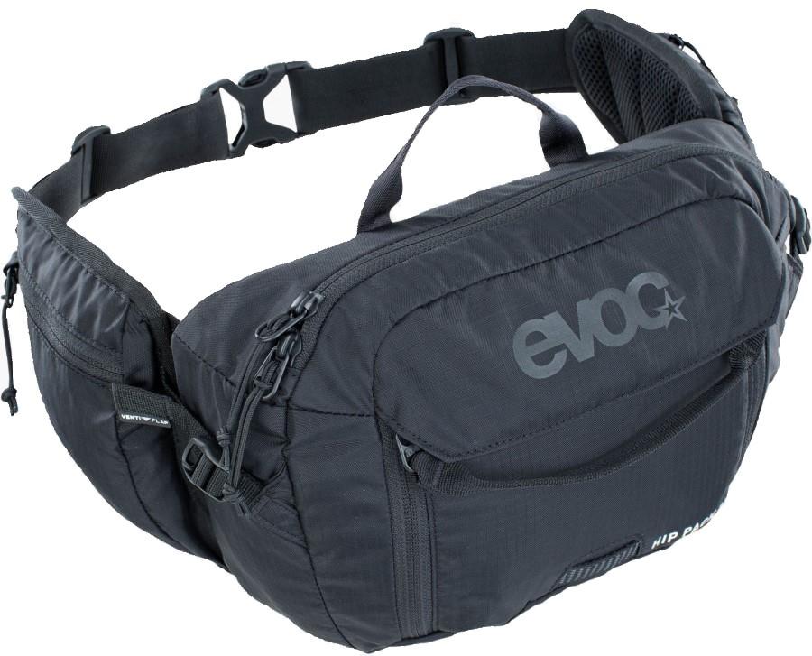 Evoc Hip Pack + Hydration Bladder Waist Pack, 3L Black