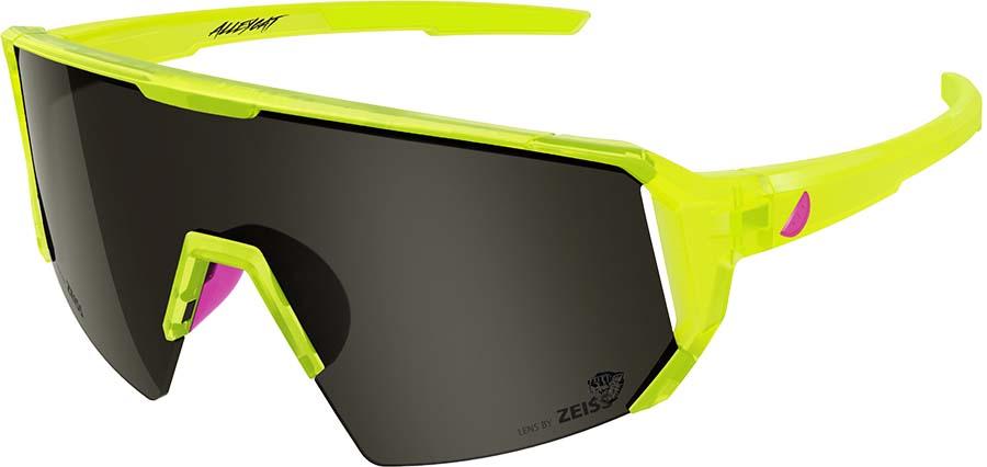 Melon Alleycat Smoke Performace Sunglasses, Yellow/Neon Pink