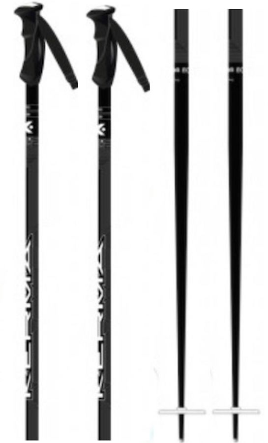 Kerma Vector Eco Pair Of Ski Poles, 115cm White