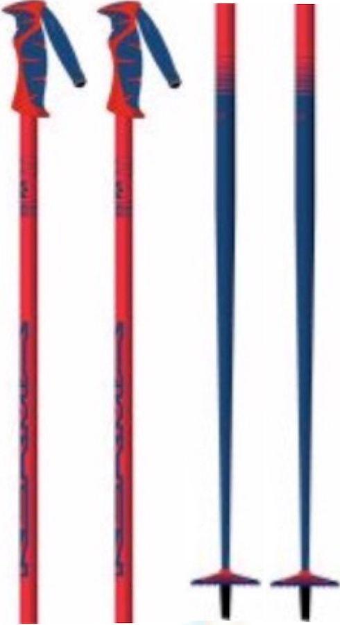 Kerma Vector Box Pair Of Ski Poles, 120cm Red