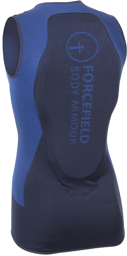Forcefield Mons Vest Body Armour, L Navy