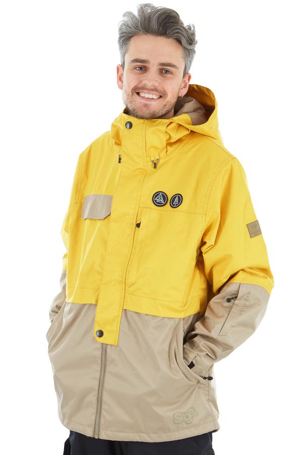Saga Anomie Ski/Snowboard Jacket, M Curry