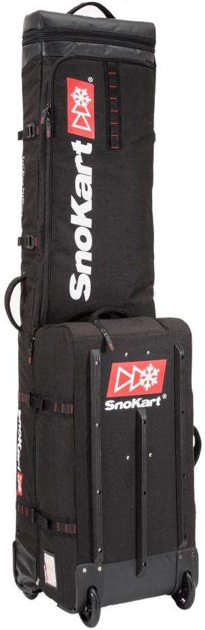 SnoKart The Kart 3 Multi-Use Ski/Snowboard Bag 190cm Black
