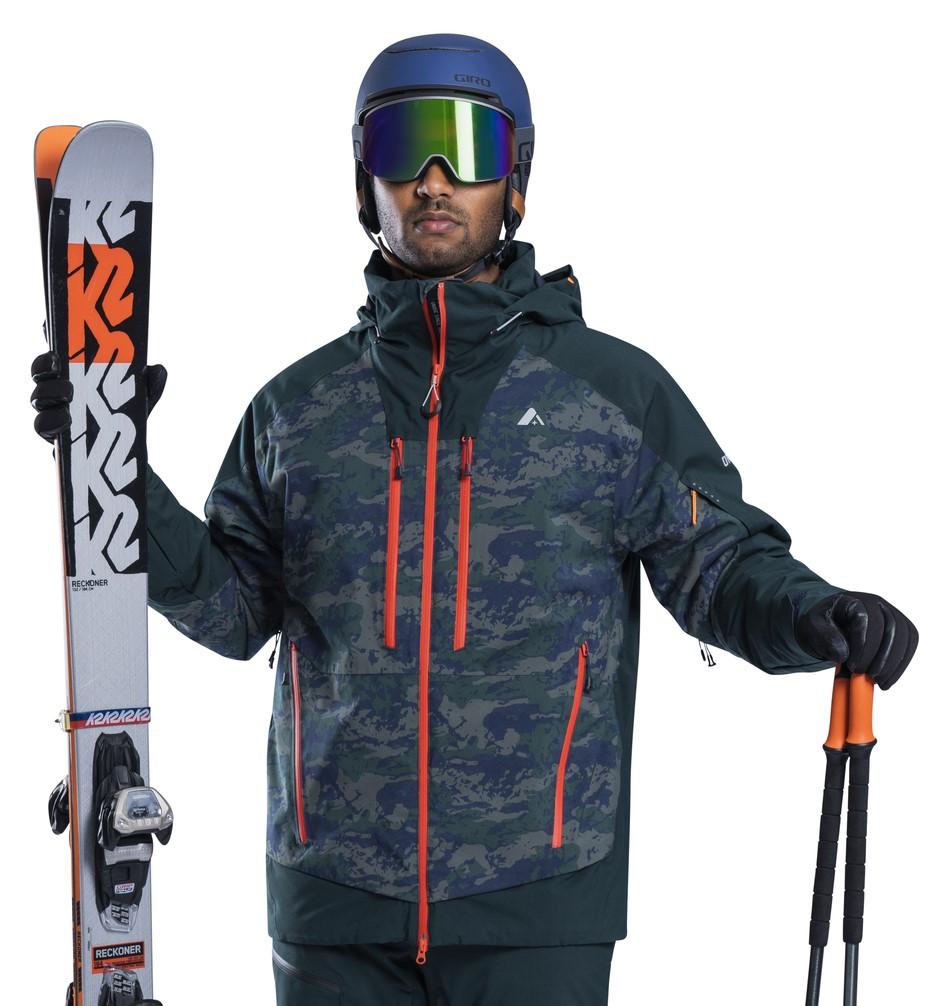 Orage Alaskan Ski/Snowboard Jacket, L Outlaw Print