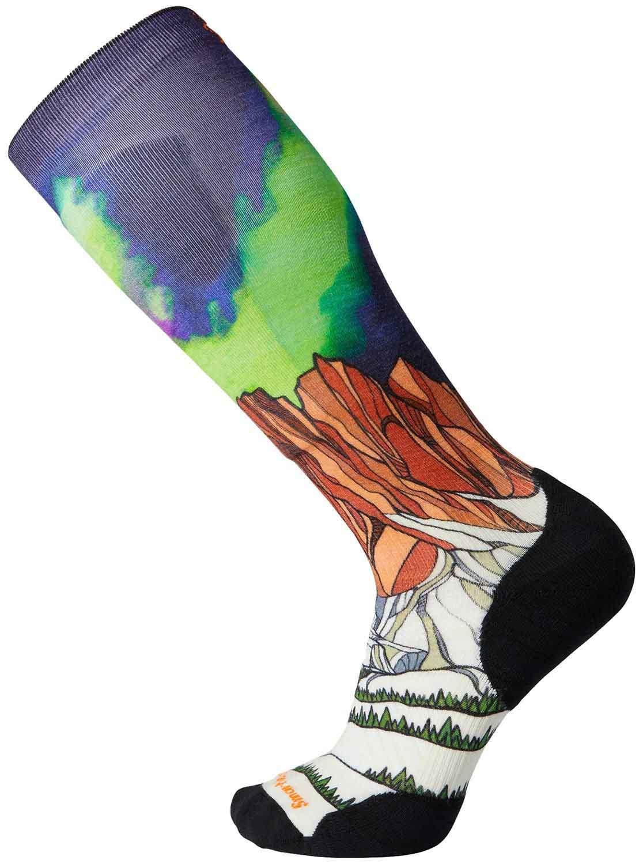 Smartwool PHD Ski Light Elite Ski Socks, L Homechetler Print