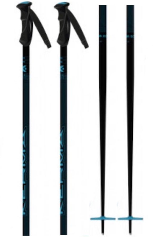 Kerma Vector Eco Pair Of Ski Poles, 115cm Dark Blue