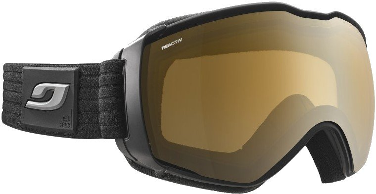 Julbo Aerospace Reactiv Mountain 2-4 Snowboard/Ski Goggles, L Black