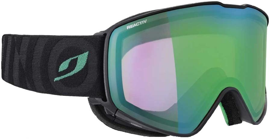 Julbo Cyrius Reactiv Perform 1-3 Ski/Snowboard Goggles L Black/Green
