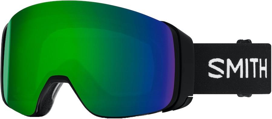 Smith 4D Mag CP Sun Green Snowboard/Ski Goggles, M Black