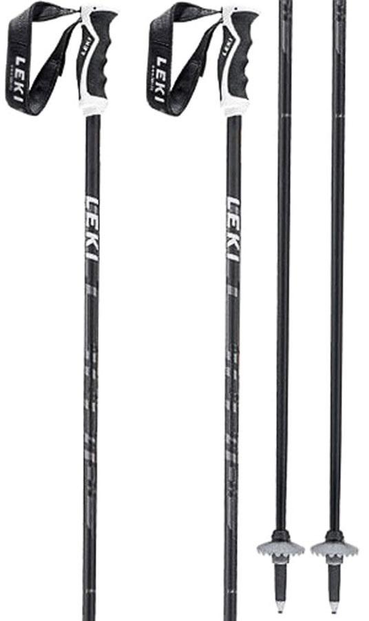 Leki Comp 16 C Ski Poles, 120cm Black/Grey/Green