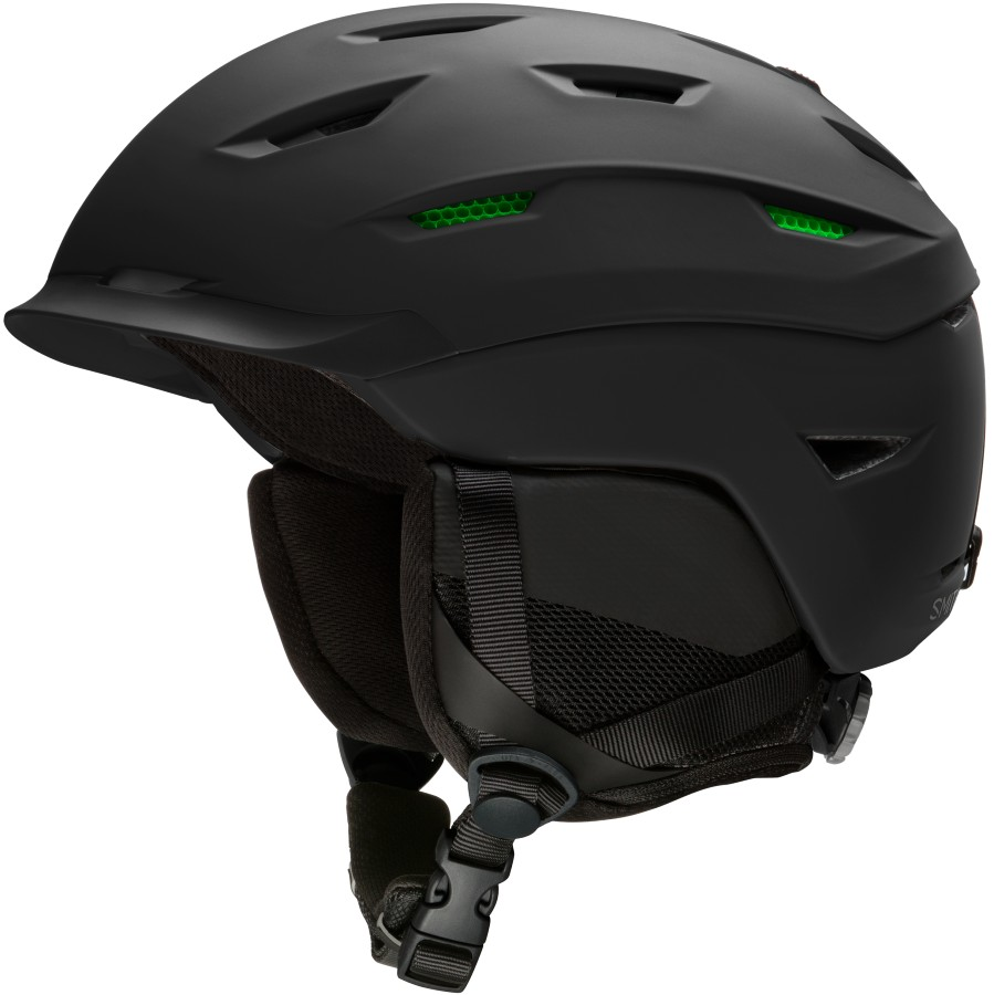 Smith Adult Unisex Level Snowboard/Ski Helmet, L Matte Black