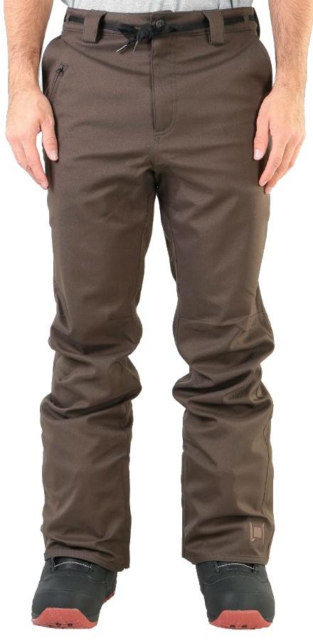 L1 Premium Goods Thunder Ski/Snowboard Pants, L Espresso