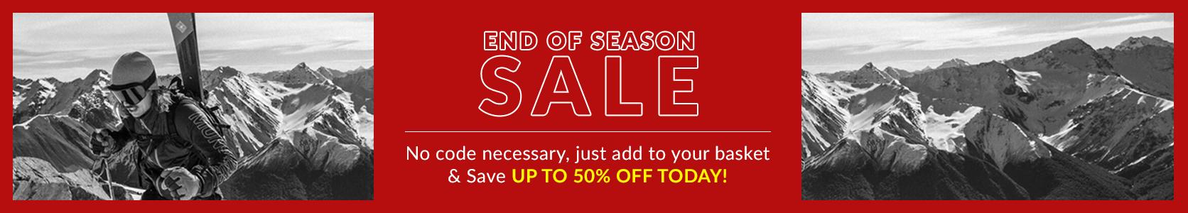 Winter 21 End of Season Sale