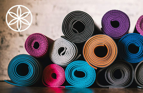 Specialist yoga accessories from Gaiam available now