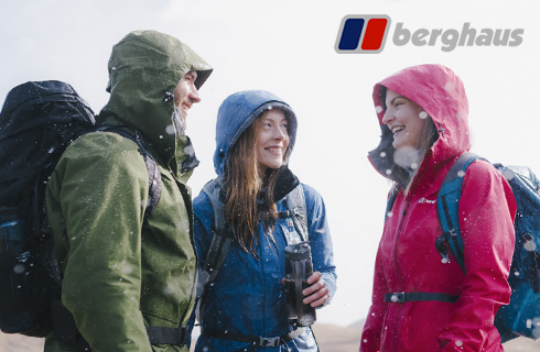 BERGHAUS, LOVE THE UNEXPECTED