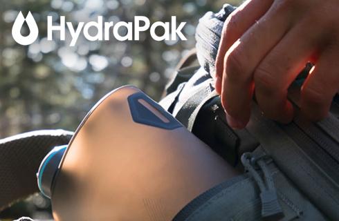 HYDRAPAK, ADVENTURE DRIVEN HYDRATION