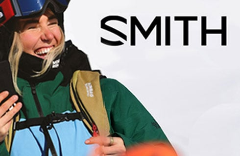 Free Smith sunglasses with a goggle and helmet combo