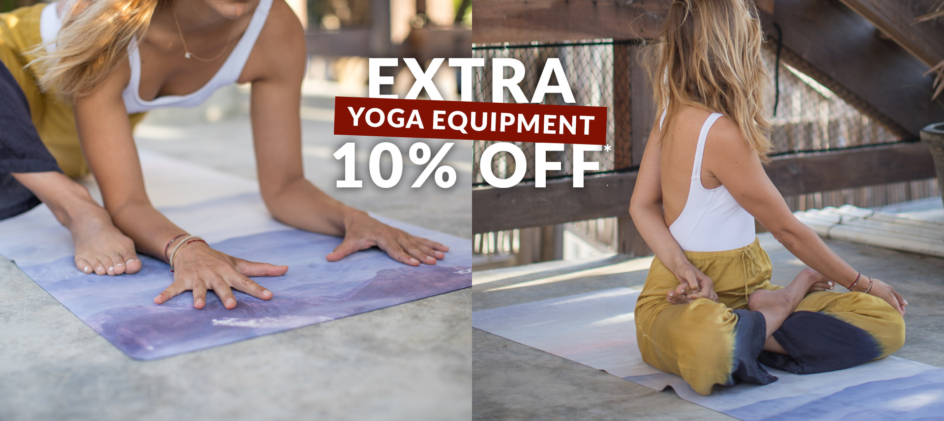 Use Code 'YOGAMONTH' to Save an Extra 10% on Yoga Equipment This September